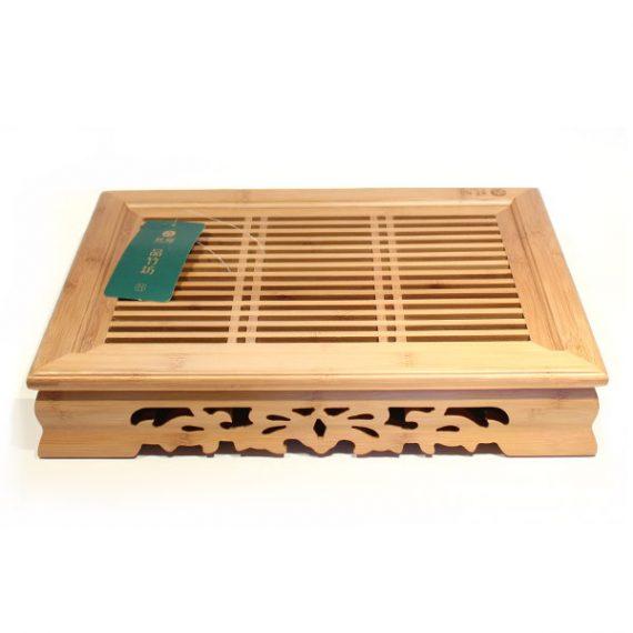 Купить чайный стол чабань из бамбука
