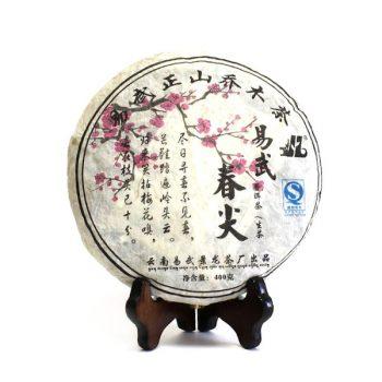 """Шэн пуэр """"Иу Чунь Цзянь"""" 357 г. (2009 г.)"""