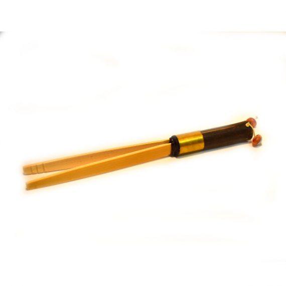 Щипцы Цзя Цзы (бамбук) с бусиной