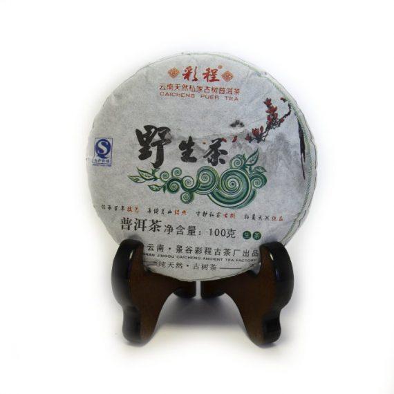 "Шэн пуэр ""Е Шэн Сяо Бин"" 100 г. (2013 г.)"