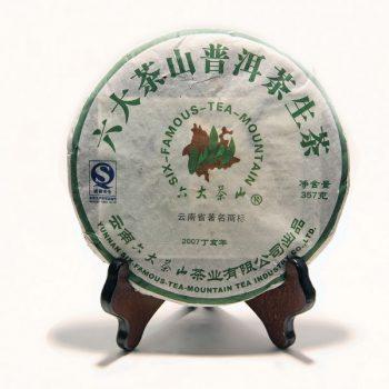 """Шэн пуэр """"Лю Да Ча Шань"""" 357 г. (2007 г"""