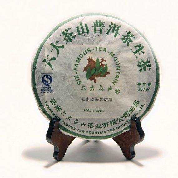 """Шэн пуэр """"Лю Да Ча Шань"""" 357 г. (2007 г.)"""