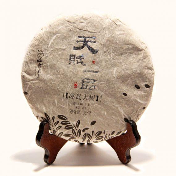 """Шэн пуэр """"Тянь Фу Ипинь Биндао Да Шу"""" 357 г. (2012 г.)"""