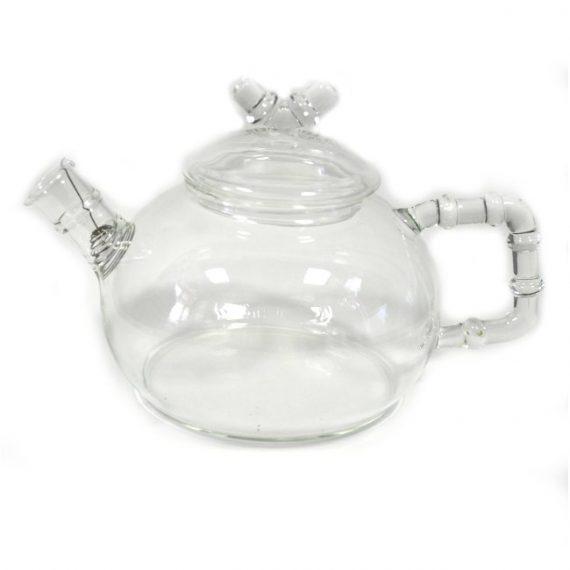 """Чайник """"Бамбук"""" (стекло) 800 мл."""
