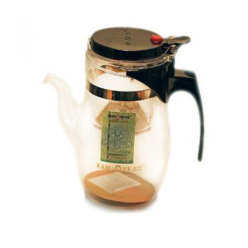 Чайник с кнопкой (изипот) 600 мл. c носиком