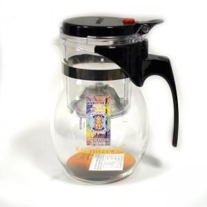Чайник с кнопкой (изипот) 600 мл