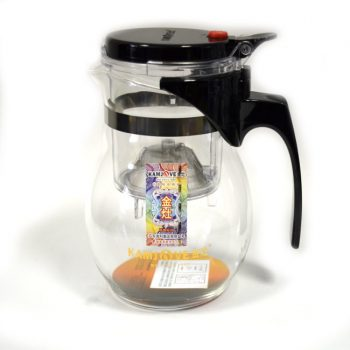 Чайник с кнопкой (изипот) 600 мл.