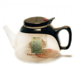 Чайник с кнопкой (изипот) 900 мл