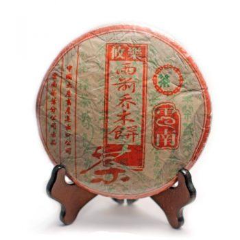 """Шэн пуэр """"Ю Цянь Цяо Му Лэ Ю"""" 357 г. (2003 г.)"""