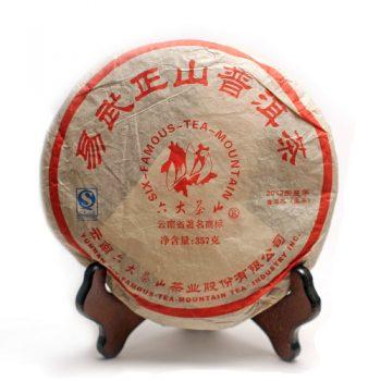 """Шэн пуэр """"И У Чжэн Шань"""" 357 г. (2012 г.)"""