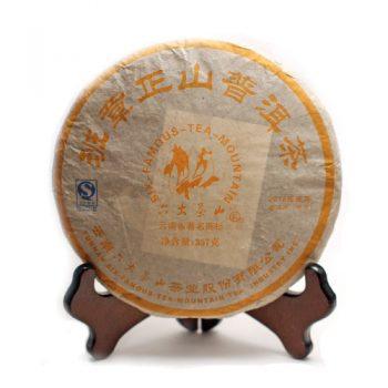"""Шэн пуэр """"Бань Чжан Шань"""" 357 г. (2012 г.)"""