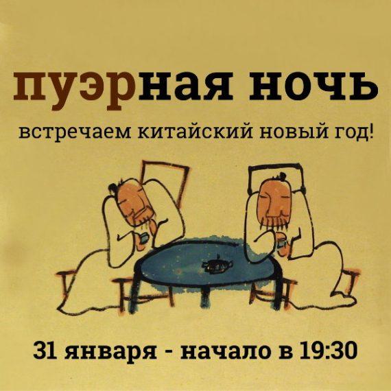 """Билет на мероприятие """"Пуэрная ночь в Москве"""" 31.01"""