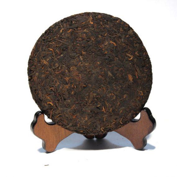 Черный шу пуэр саньта 200 грамм блин