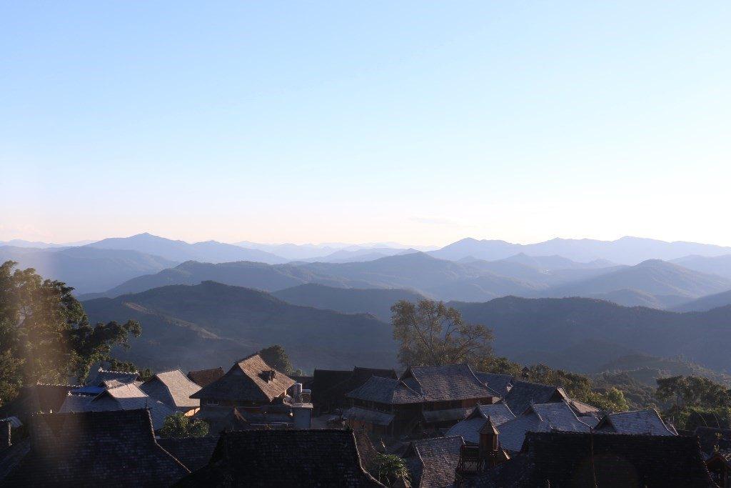 Горы Цзинмай