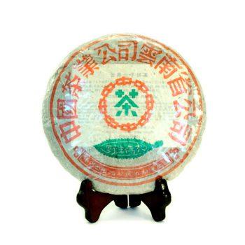 Выдержанный шэн пуэр от Да И Буланшань Е Шэн