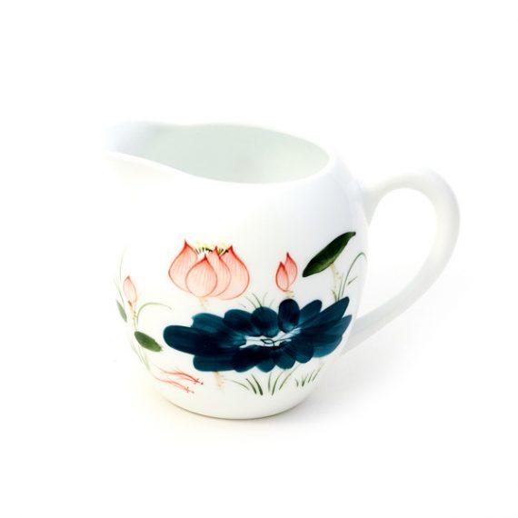 Большой фарфоровый чахай для чайной церемонии
