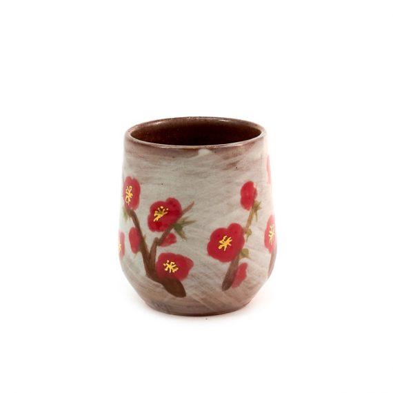Глиняная пиала в японском стиле