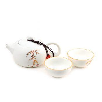 чайный набор чайник и пиалы